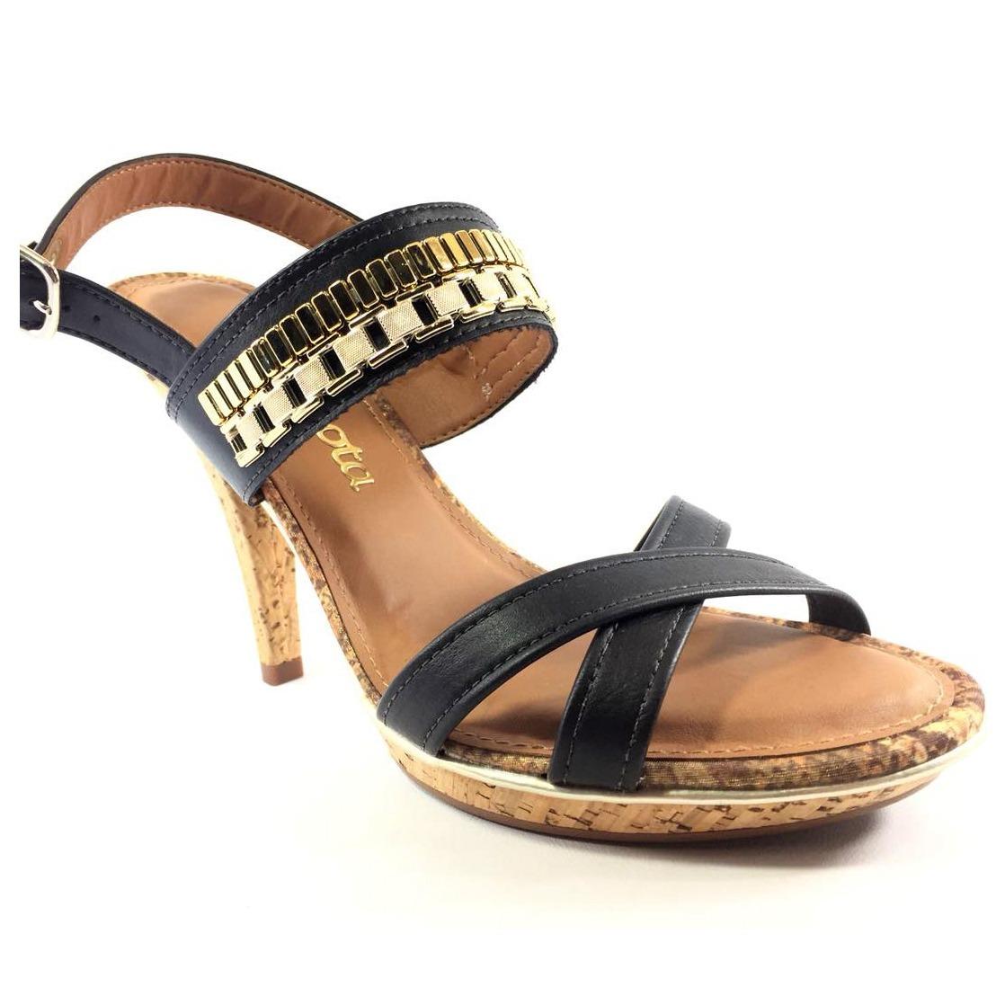 fe7d9183b7 sandália dakota meia pata salto fino feminina - preto. Carregando zoom.