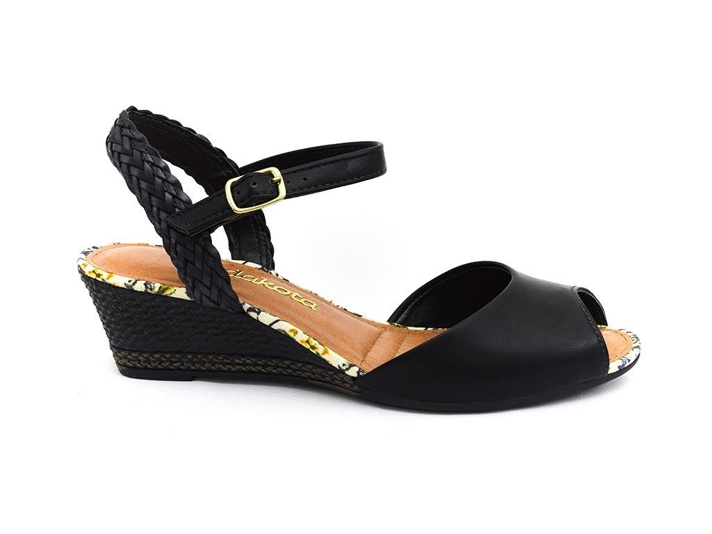 44ba5f0455 sandália dakota preto z1271 original com frete grátis. Carregando zoom.