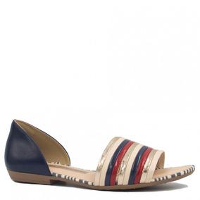 d3afebee33 Dakota Sandalia Rasteira Bolshoi Azul - Sapatos no Mercado Livre Brasil
