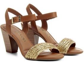7986a37def Tamancos Femininos De Salto Grosso Dakota - Sapatos no Mercado Livre Brasil