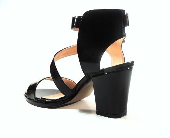 Mujer Nuevo Negro Zapato Sandalia Dalia AjLR354