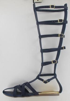 sandalia dama tipo romana azul marino mundo terra 011658