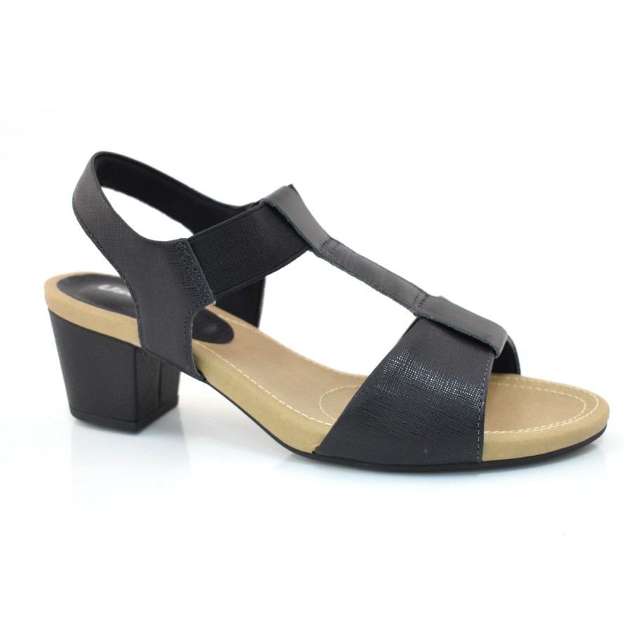 f42917a2db sandália de couro de salto baixo usaflex - k9403 20. Carregando zoom.