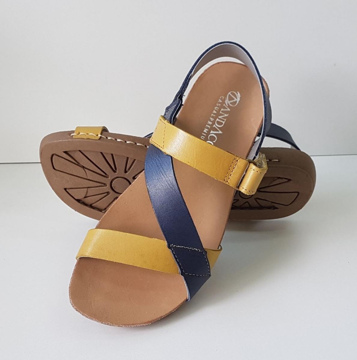 d05cea706 sandália de couro feminina andacco. Carregando zoom.