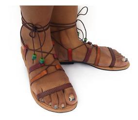 Artesanales Mercado Mujer De En Cuero Zapatos Sandalias l5ucK31TFJ