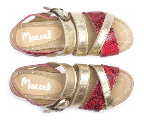 sandalia de cuero marcel calzados (cod.18078)