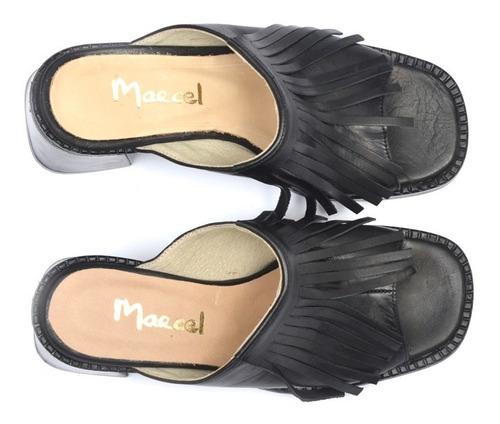 sandalia de cuero marcel calzados (cod.18237)