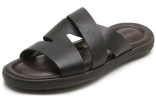 sandalia de cuero pacific democrata hombre garage 015129