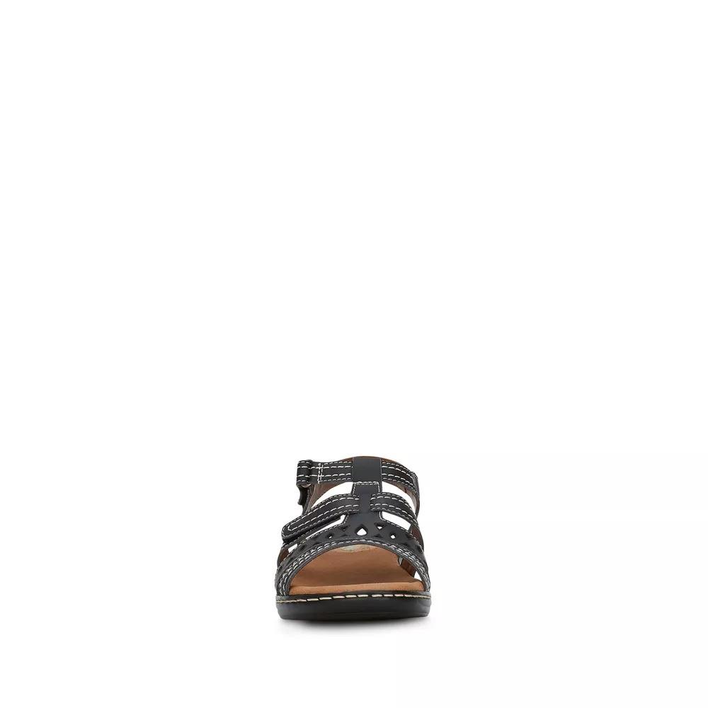 2089f625cd8 sandalia de dama confort color negro andrea de piel 2611983. Cargando zoom.