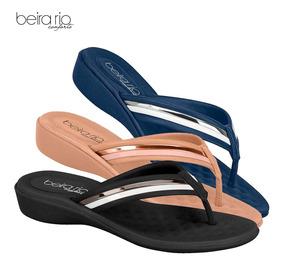 6bdc79d2b Chinelo Beira Rio Anabela - Sapatos com o Melhores Preços no Mercado Livre  Brasil