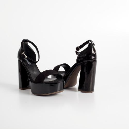 sandalia de fiesta art mimi negro otro calzado