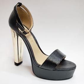 90163613 Sandalia Tacos 20 Cm - Zapatos Negro en Mercado Libre México