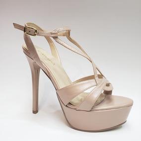 Piel En Dama Claro Rosa Tacon Zapatos México Libre Sandalias Mercado WH2YID9eE