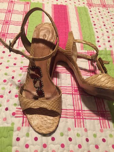 sandália de oncinha jorge alex