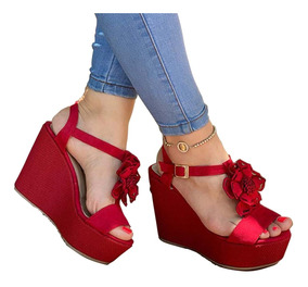 Sandalias Plataformas Colombianas On0pwk Mujer 2017 Zapatos QdCxthsr