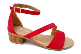 064873d5 Sandalias Tacon Bajo Cuadrado - Zapatos en Mercado Libre México