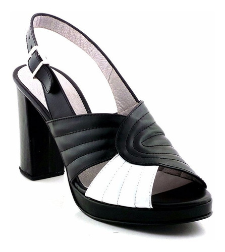 sandalia de vestir mujer zapato cuero briganti - mcsd04546