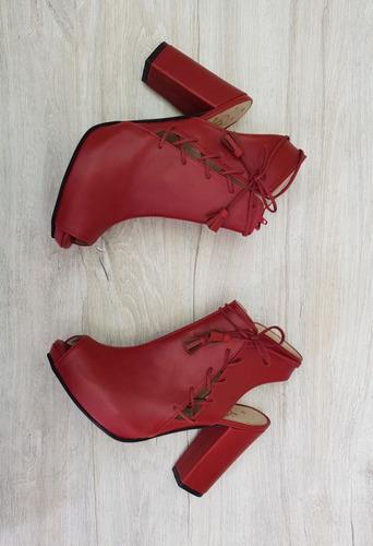 sandalia dominik rojo