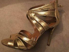 9ccb78fe4 Sandália Dourada Arezzo - Sapatos com o Melhores Preços no Mercado ...