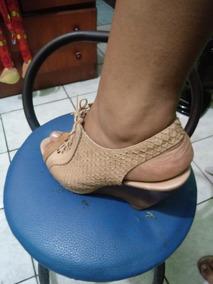 4a23ea2d76 Anabela Morena Rosa Salto Xadrez Temos Dumond - Sapatos no Mercado ...