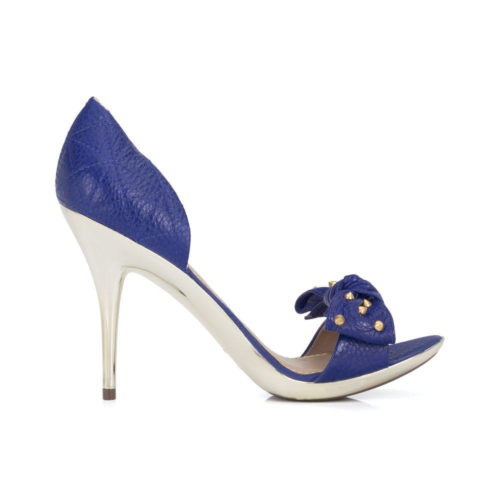 740e32b7a Sandália Dumond Turmalinna Merino Azul Royal - R$ 49,90 em Mercado Livre