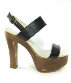 b4027bc99 Tamanco Madeira Couro - Sapatos no Mercado Livre Brasil
