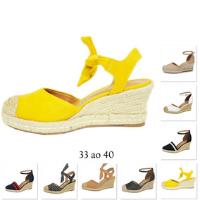 650c27c6e9 Sapato Anabela Vizzano - Sapatos para Feminino Amarelo no Mercado ...