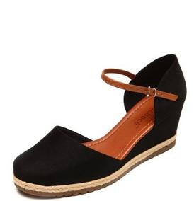 5ecfefcbee Sandalia Anabela Espadrille Bebece Feminino - Sapatos no Mercado ...
