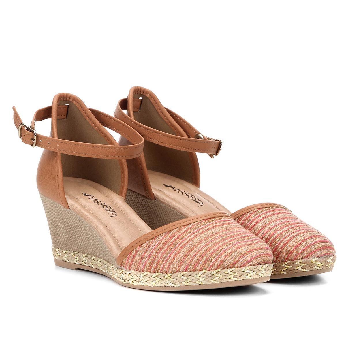 2304c3bae sandália espadrille mississipi anabela com corda feminina. Carregando zoom.