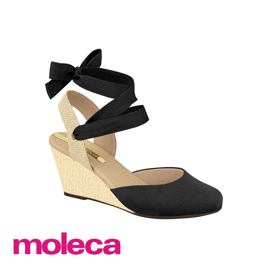 3a696b190 Sandalia Espadrille Moleca - R$ 79,00 em Mercado Livre