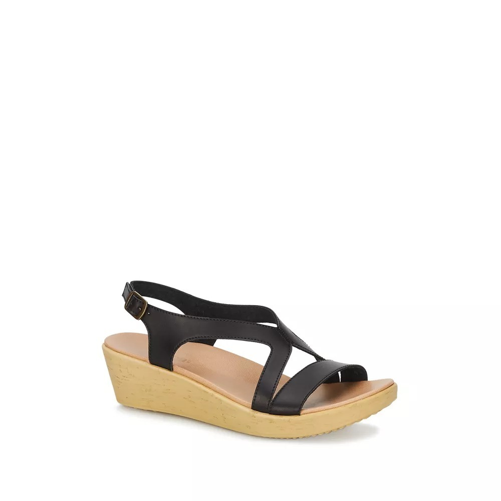 2602028449 Mujer 90 Sandalia Comoda Hebilla Fashion Tiras Black srxhQCBtdo
