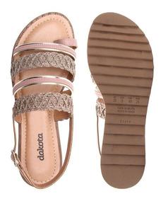 88113af085 Sandalia Rasteira Feminina Dakota Passarela - Sapatos com o Melhores Preços  no Mercado Livre Brasil