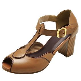 acf27f99cf Sandalia Amarela Salto Baixo - Sapatos no Mercado Livre Brasil