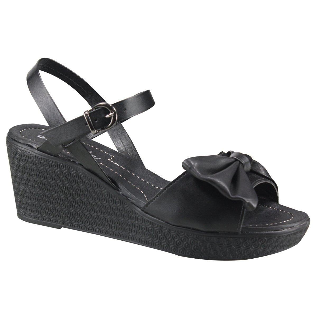d5cf14eea sandália feminina anabela azaleia 496/909 | katy calçados. Carregando zoom.