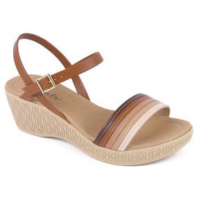 2ef4af4be Azaleia Sapatos - Sandálias para Feminino Marrom no Mercado Livre Brasil