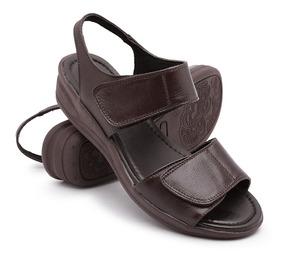 007910a84 Sapatos Confort Veis Para Idosos Feminino Sandalias - Sapatos com o  Melhores Preços no Mercado Livre Brasil