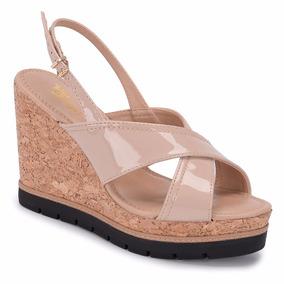 7b5635652b Sapato Feminino Salto Anabela Chique - Sapatos no Mercado Livre Brasil