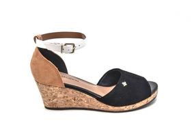 4478993dd Lojas Besni Sandalias Salto Anabela - Sapatos no Mercado Livre Brasil