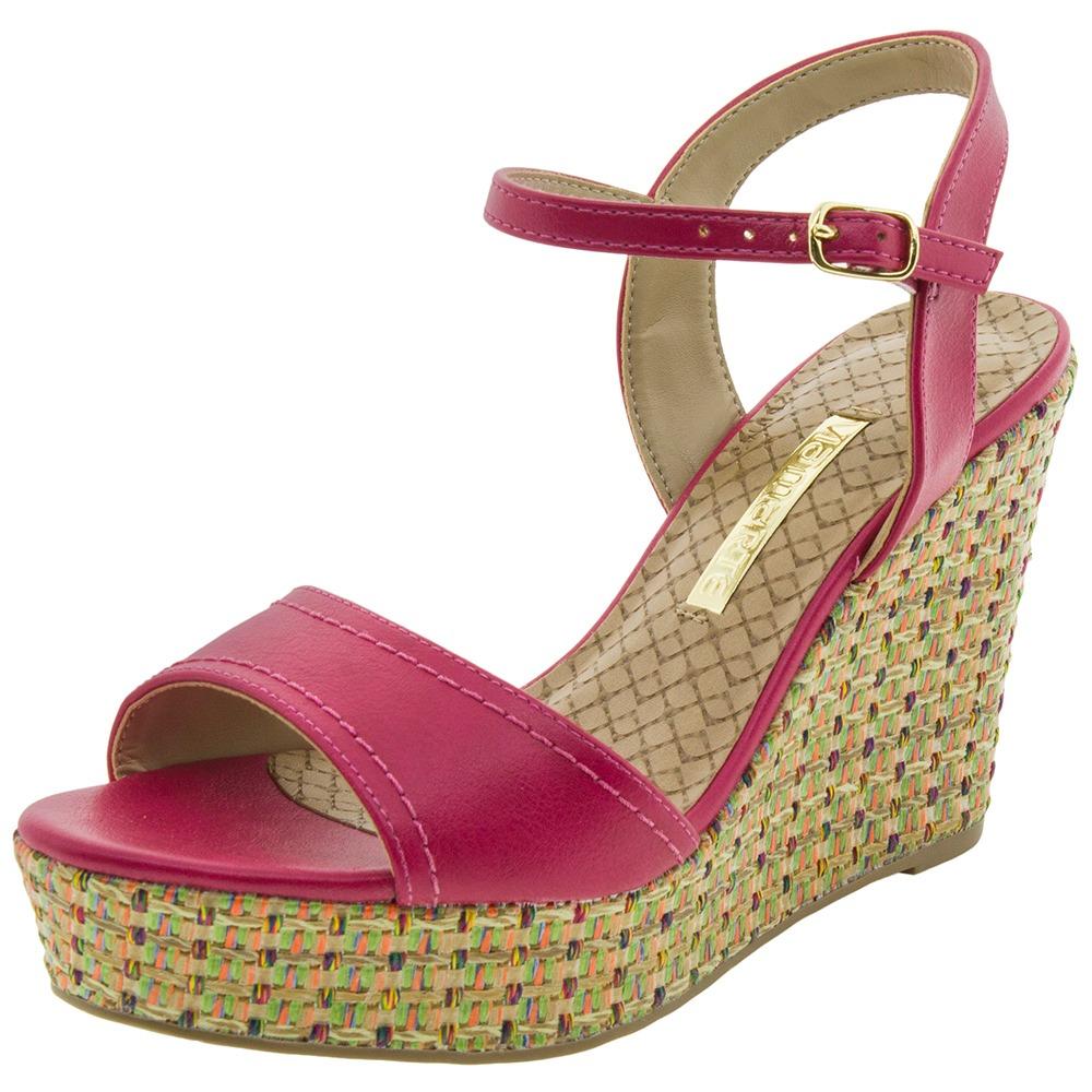 4ede09c664 sandália feminina anabela pink via marte - 169604. Carregando zoom.