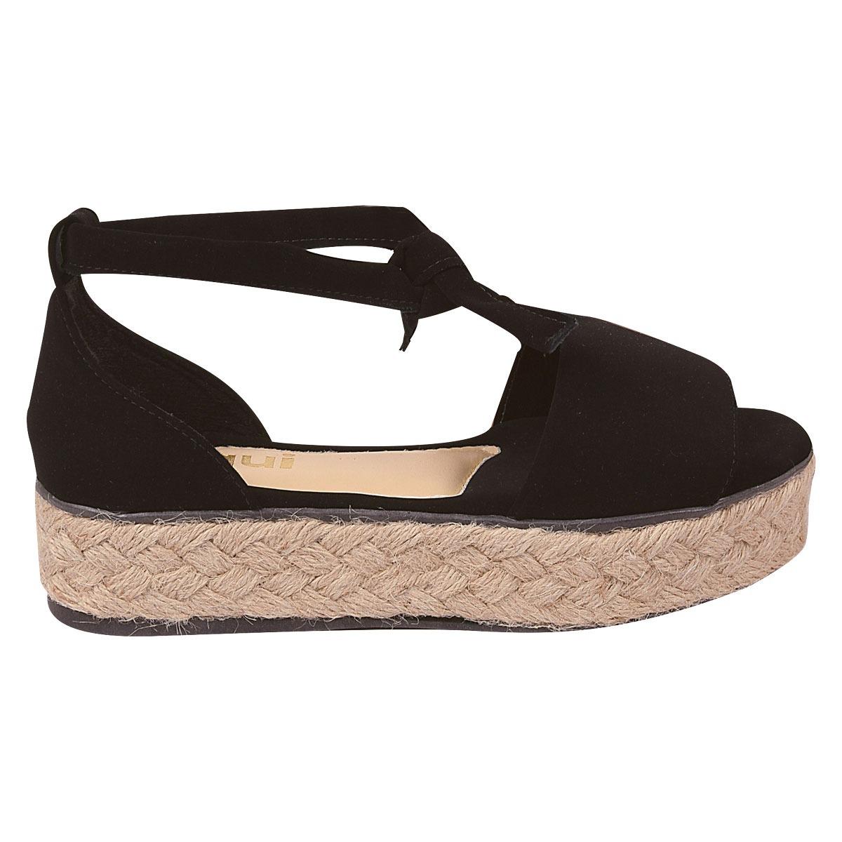 296ddba7e6 sandalia feminina anabela plataforma tratorada flatform bra9. Carregando  zoom.