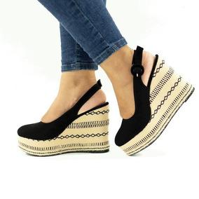 34d0bb962 Espadrille Sapato Salto Anabela Em Corda - Sapatos no Mercado Livre ...