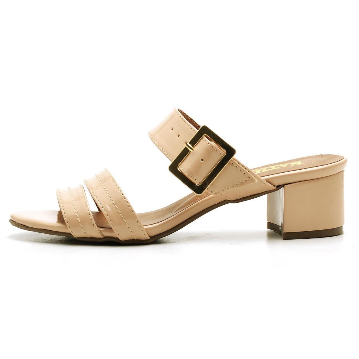fc36d2f40 sandalia feminina anabela salto baixo sapato conforto fivela. Carregando  zoom.