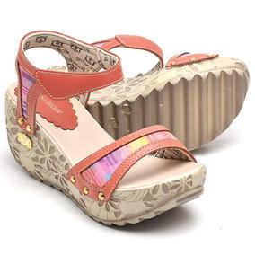 a9bbd53f9 Sandalia De Salto Grosso Ramarim Numero 33 - Sapatos no Mercado ...
