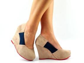 52b8013fd7 Sapato Boneca Anabela - Sapatos no Mercado Livre Brasil