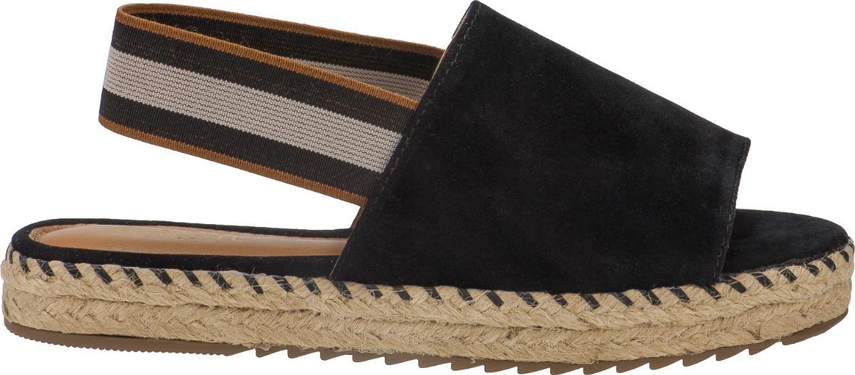 0aa7f651b7 sandalia feminina anabela sapato espadrille avarca elastico. Carregando zoom .