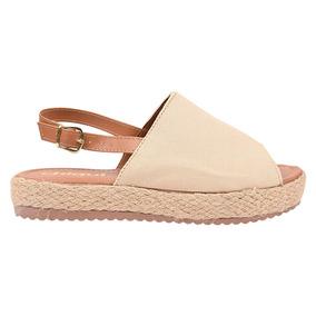 a6787290c Sandalia Plataforma Baixa Feminino Anabela - Sapatos no Mercado Livre Brasil