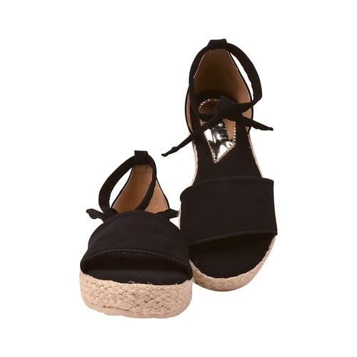sandalia feminina anabela tratorada rasteirinha moda 2018/1