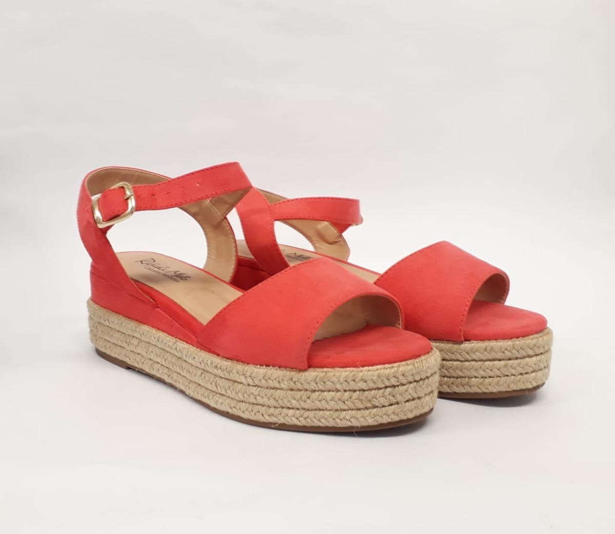 88ff7c903 sandalia feminina anabela tratorada rasteirinha moda. Carregando zoom.