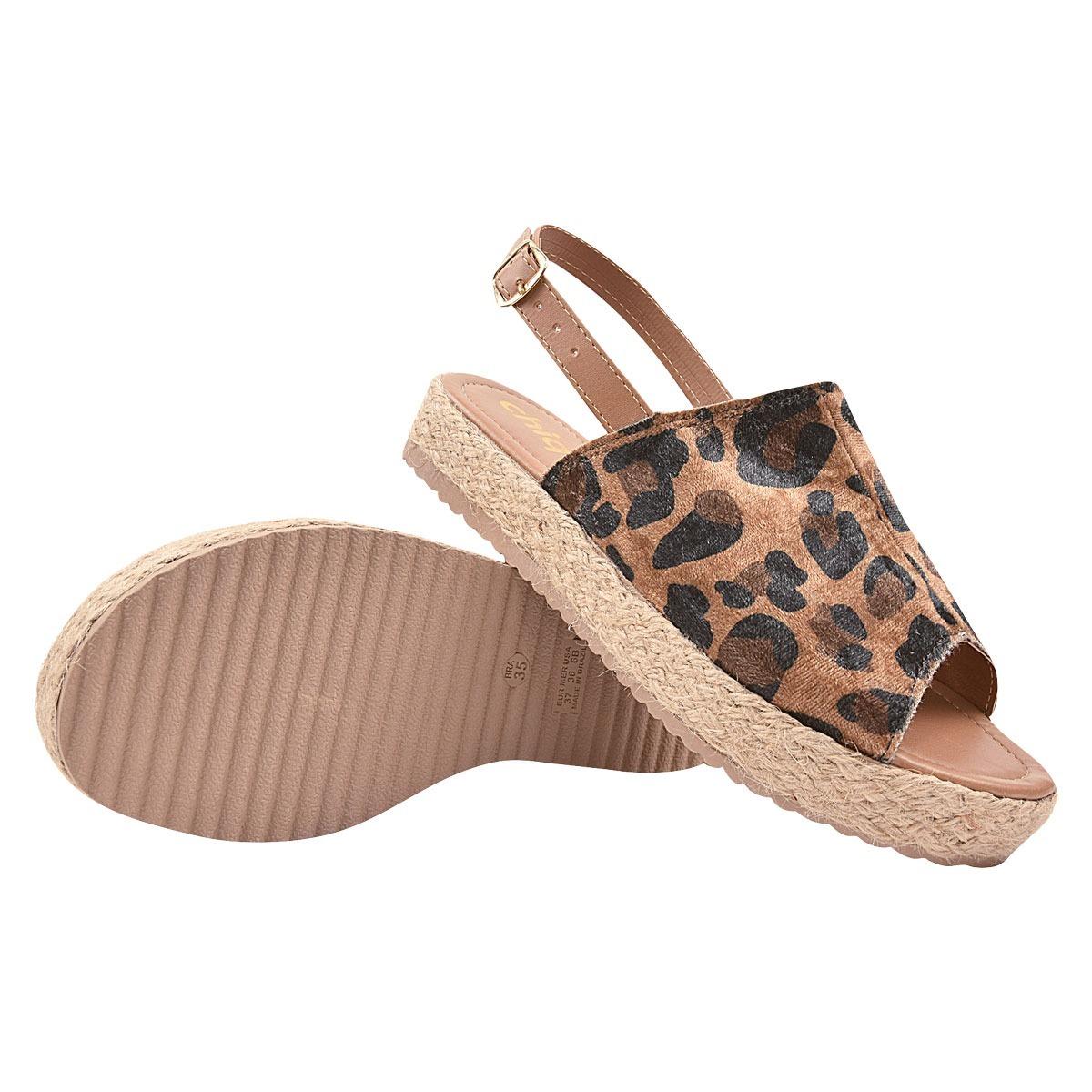 7ac62d014 sandalia feminina anabela tratorada rasteirinha moda jln 169. Carregando  zoom.