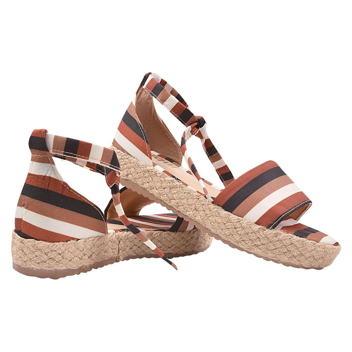 d750ba793 sandalia feminina anabela tratorada rasteirinha moda srg. Carregando zoom.